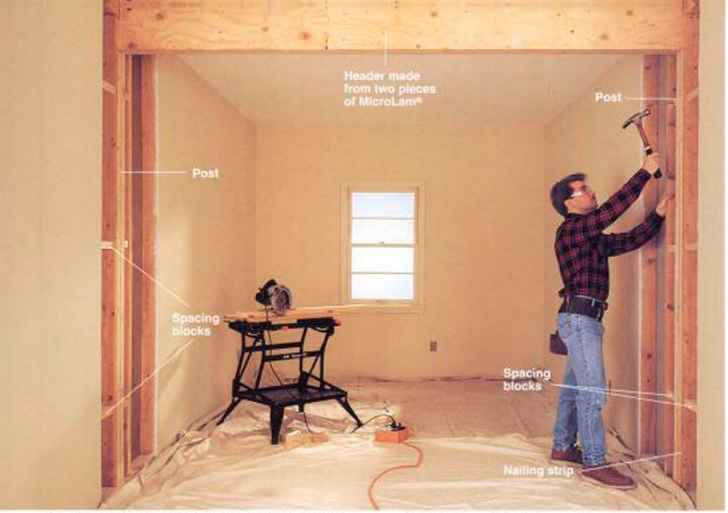 How to Support Platform Framing Joists Parallel to the Wall - Home ...