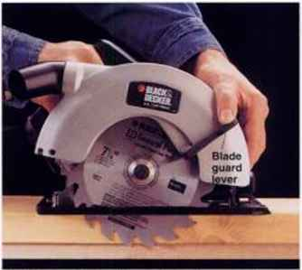 How to set the blade depth home carpentry green building central ithe blade on a circular saw does not move when you set the blade depth instead on most circular saws the saw baseplate pivots up and down changing the greentooth Choice Image