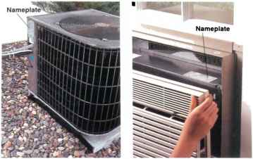 Kilowatts 240 volts home wiring green building central for 120 volt window air conditioner