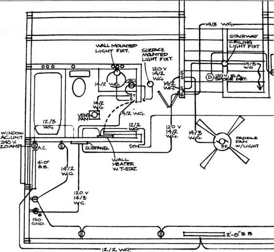9665_65_503-wiring-bed-room  Gang Receptacle Wiring Diagram on 240 volt dryer, multiple gfci, for 30 amp rv, plug load controlled, l21-30, two switch,