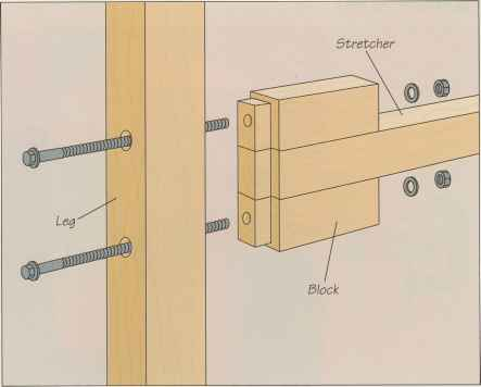 Folding Legs Bracket Workbench